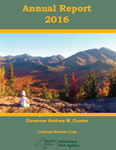 Adirondack Park Agency 2014 Annual Report front cover