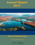 Adirondack Park Agency 2017 Annual Report front cover