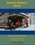 Adirondack Park Agency 2018 Annual Report front cover