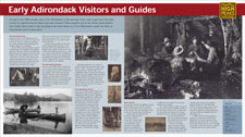 Early Adirondack Visitors and Guides